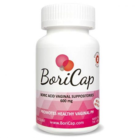 BoriCap Boric Acid Vaginal Suppositories