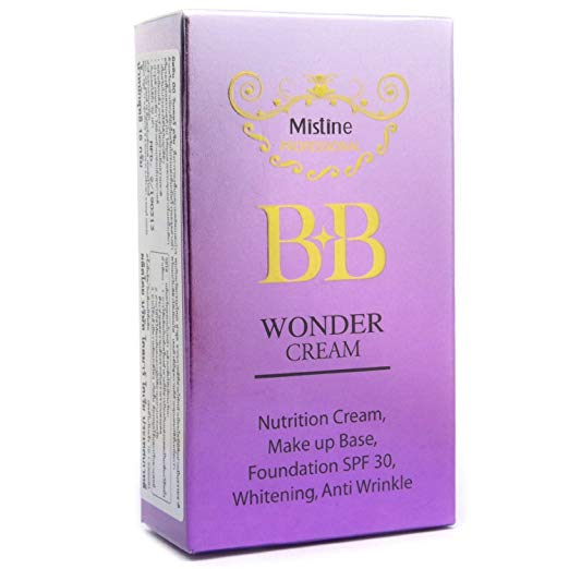 Mistine BB Wonder Cream Whitening Anti Wrinkle