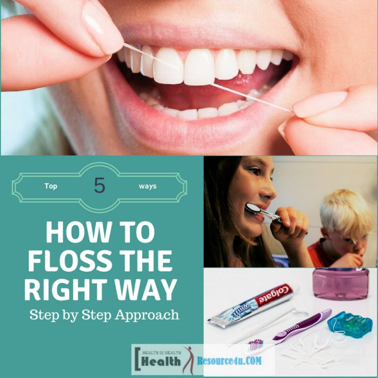 How to Floss the Right Way