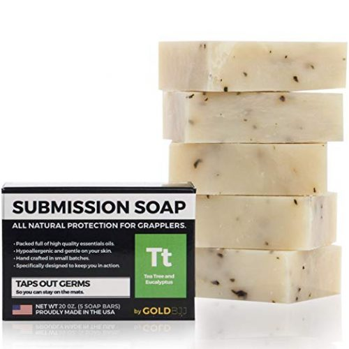 Gold BJJ Submission Soap