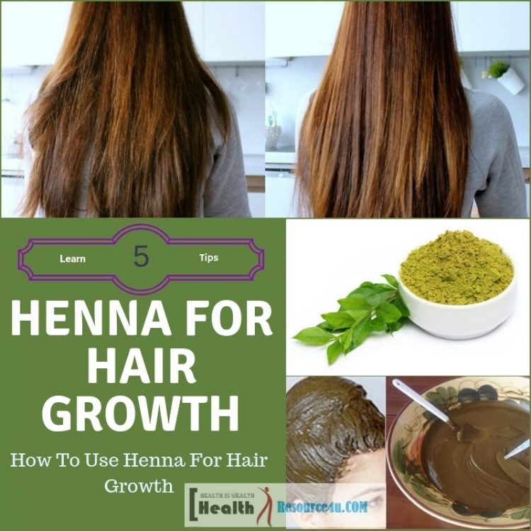 Henna For Hair Growth