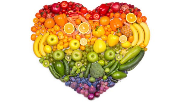 Fill Your Plate with Different Color Veggie