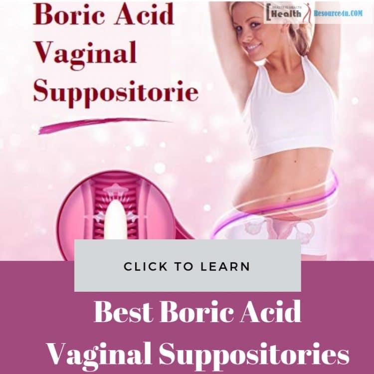 Best Boric Acid Vaginal Suppositories