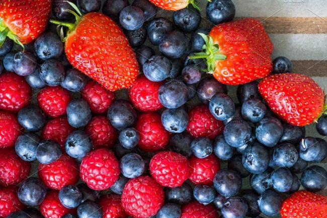 fresh berries