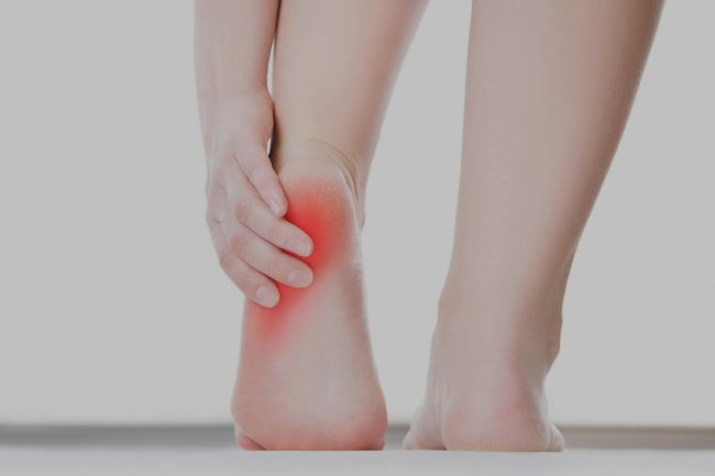 treatment of heel pain