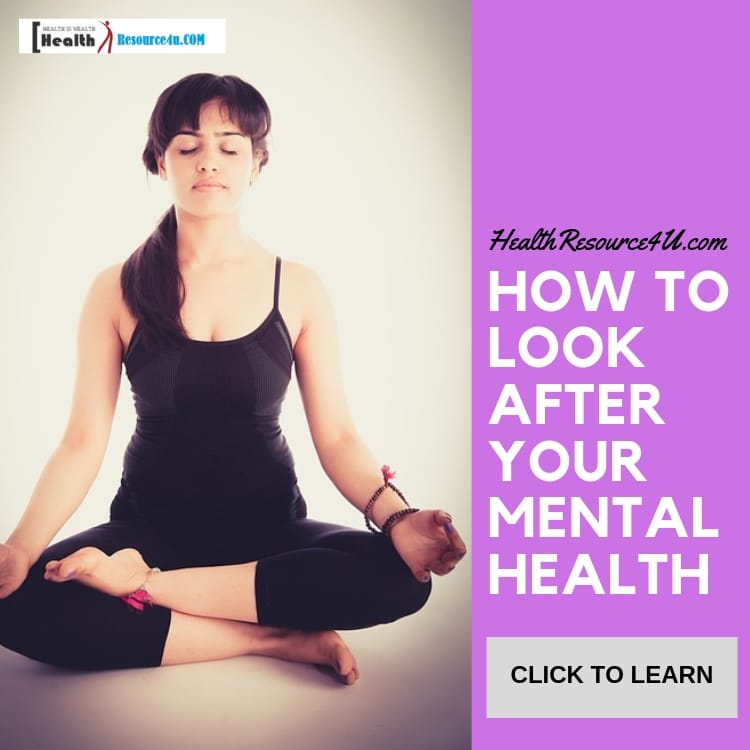 How to Look After Your Mental Health(1)