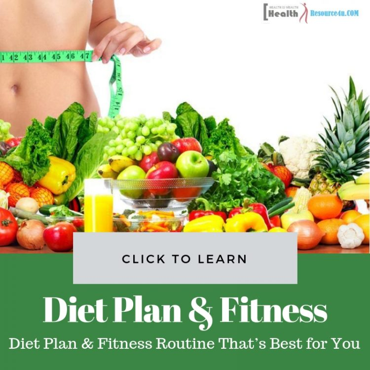 Create a Diet Plan & Fitness Routine