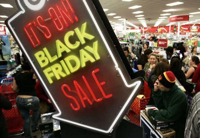 prepare your mind and body for black Friday shopping
