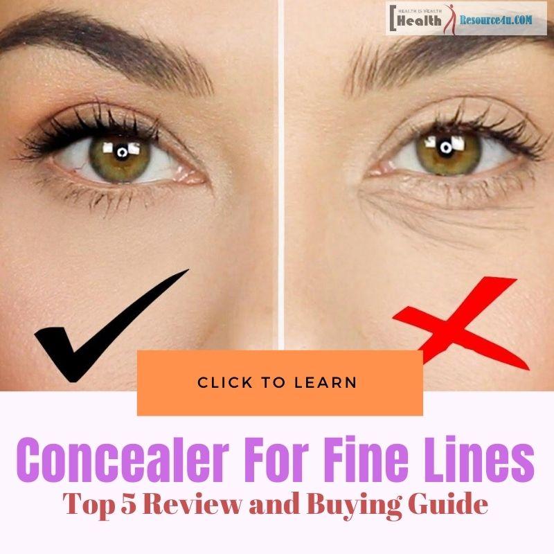 Best Concealer For Fine Lines