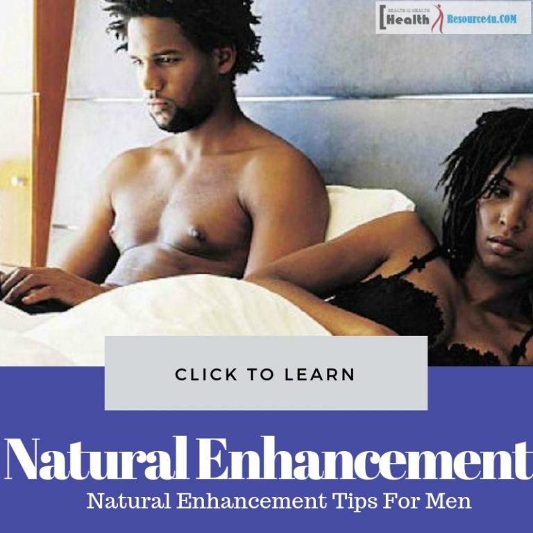 Natural Enhancement Tips For Men