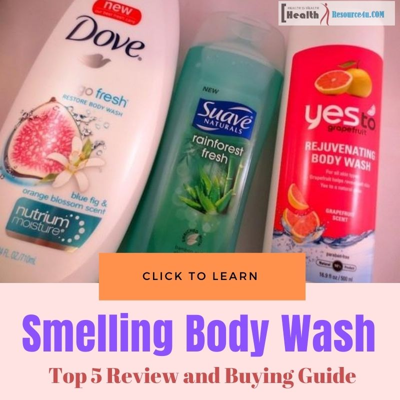Smelling Body Wash