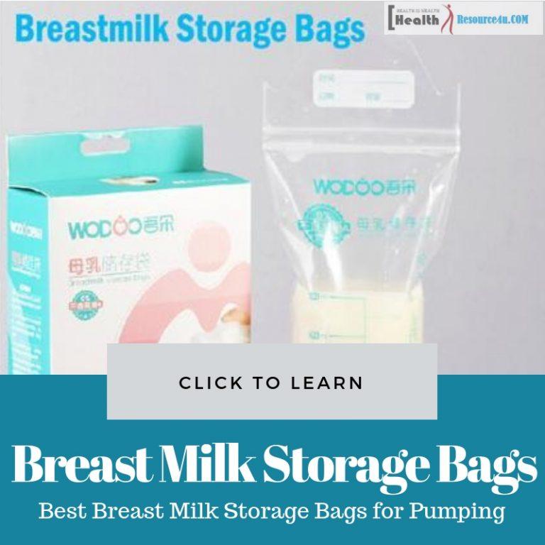 Best Breast Milk Storage Bags for Pumping