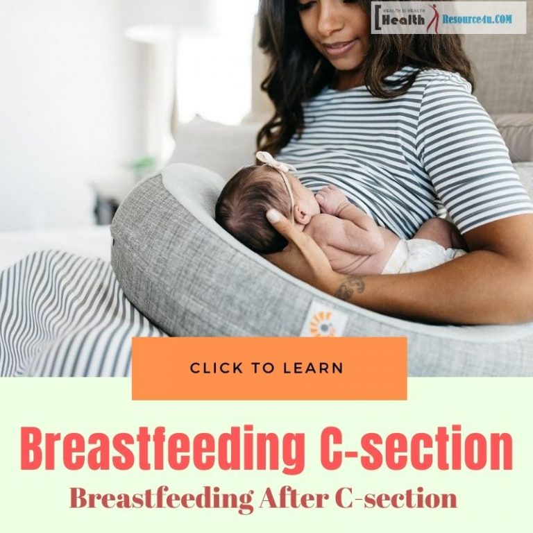 Breastfeeding after C-section