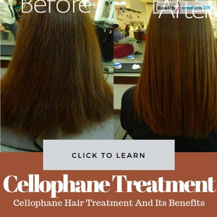 Cellophane Hair Treatment