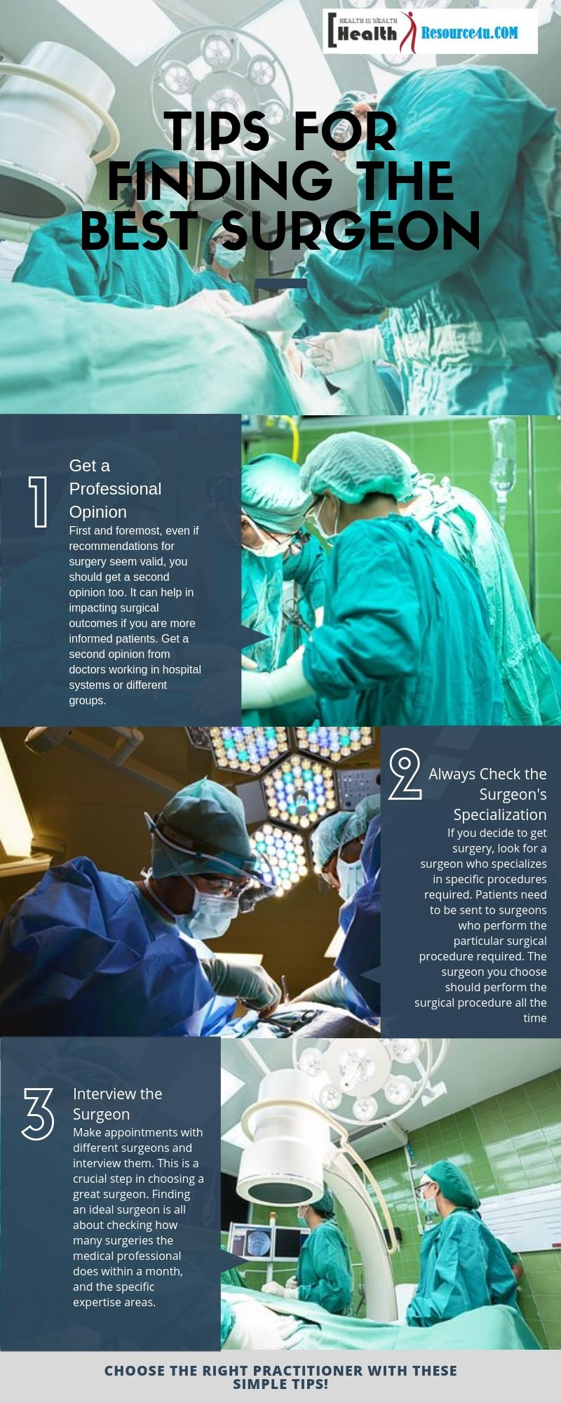 TIps to Choose a Great Surgeon