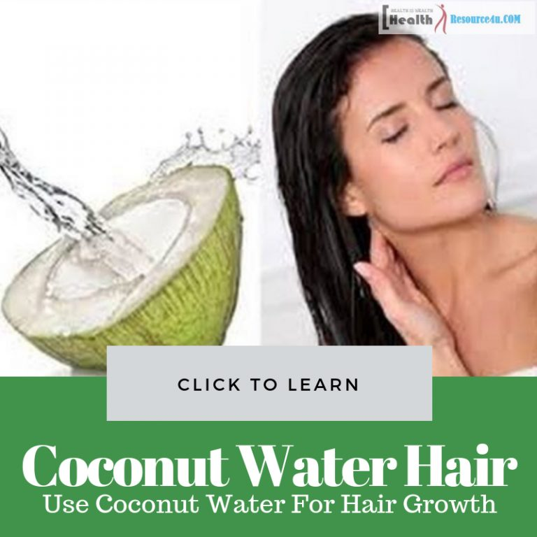 Use Coconut Water For Hair Growth