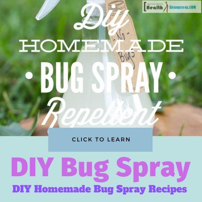 DIY Homemade Bug Spray