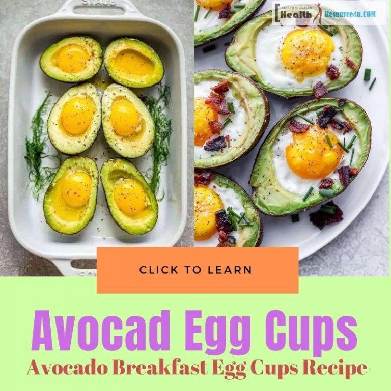Avocado Breakfast Egg Cups Recipe