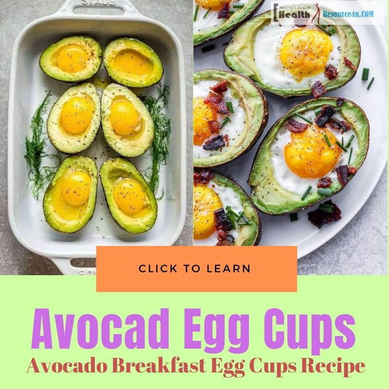 Avocado Breakfast Egg Cups Recipe