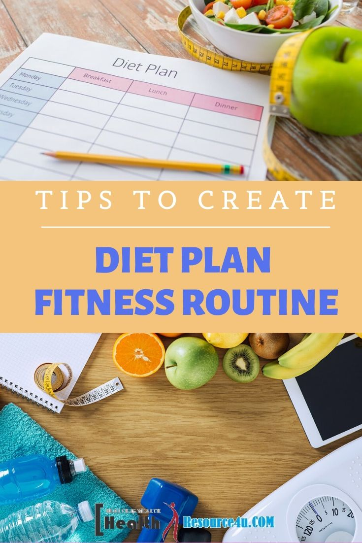 Diet Plan & Fitness Routine
