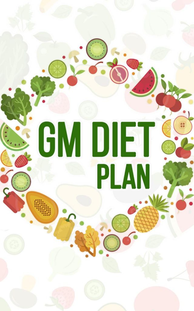 GM diet plan to lose weight