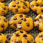 pumpkin chocolate chip cookies 5