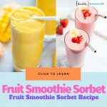 Fruit Smoothie Sorbet Recipe