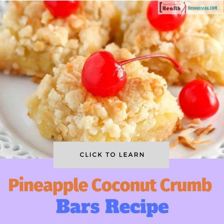 Pineapple Coconut Crumb Bars Recipe