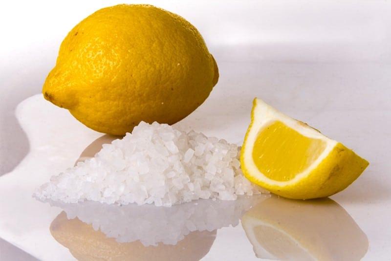 lemon-sea salt