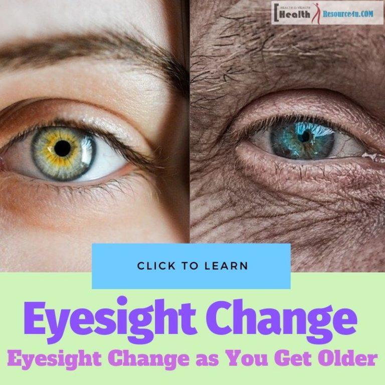 Eyesight Change as You Get Older