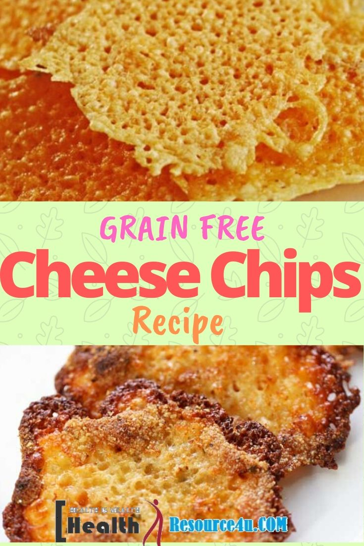 Keto Easy Cheese Chips Recipe