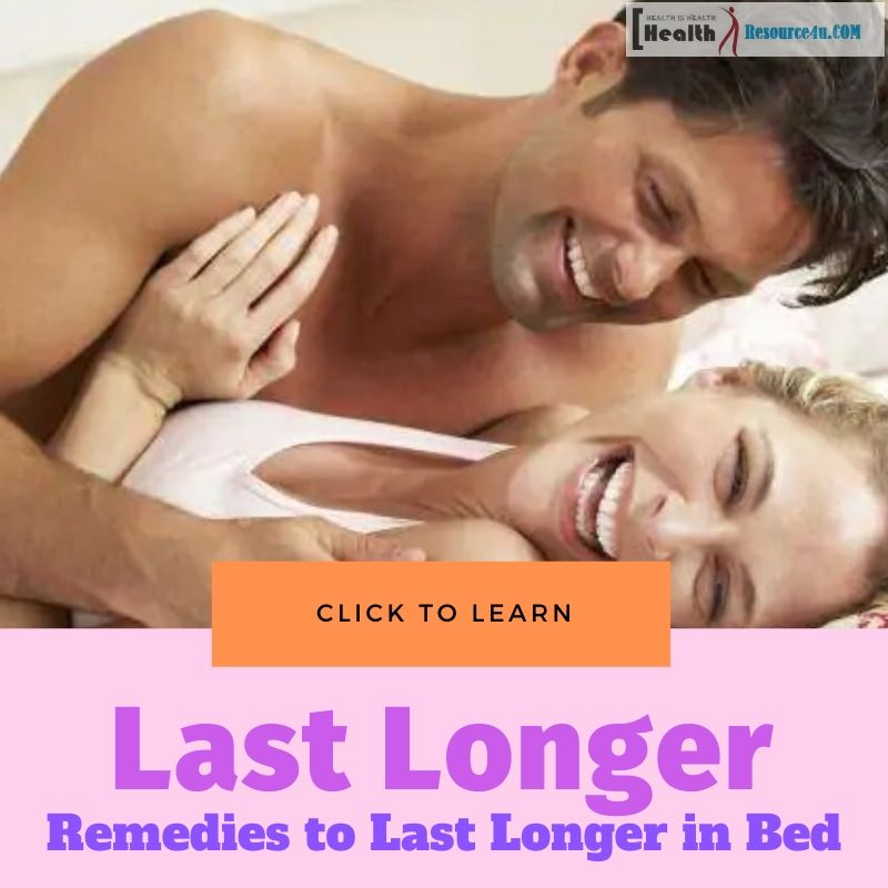 Last Longer in Bed Naturally