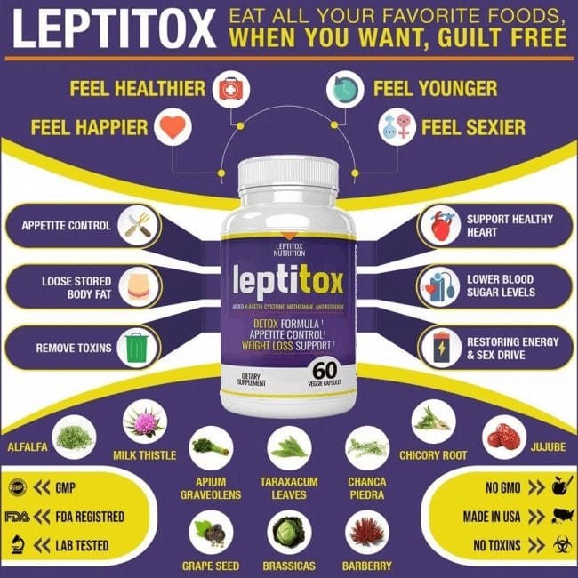 Benefits of Leptitox