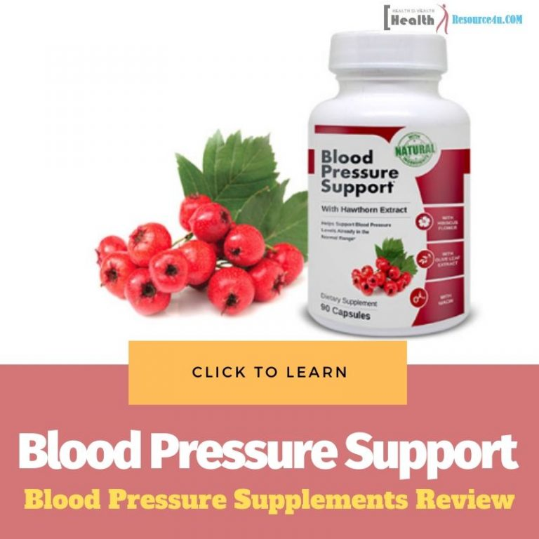 Blood Pressure Support Supplements Review