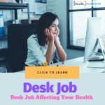 Desk Job Affecting Health