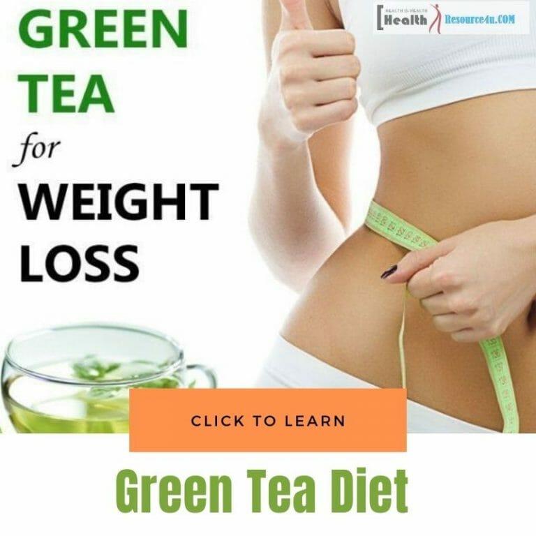 Green Tea Diet For Weightloss