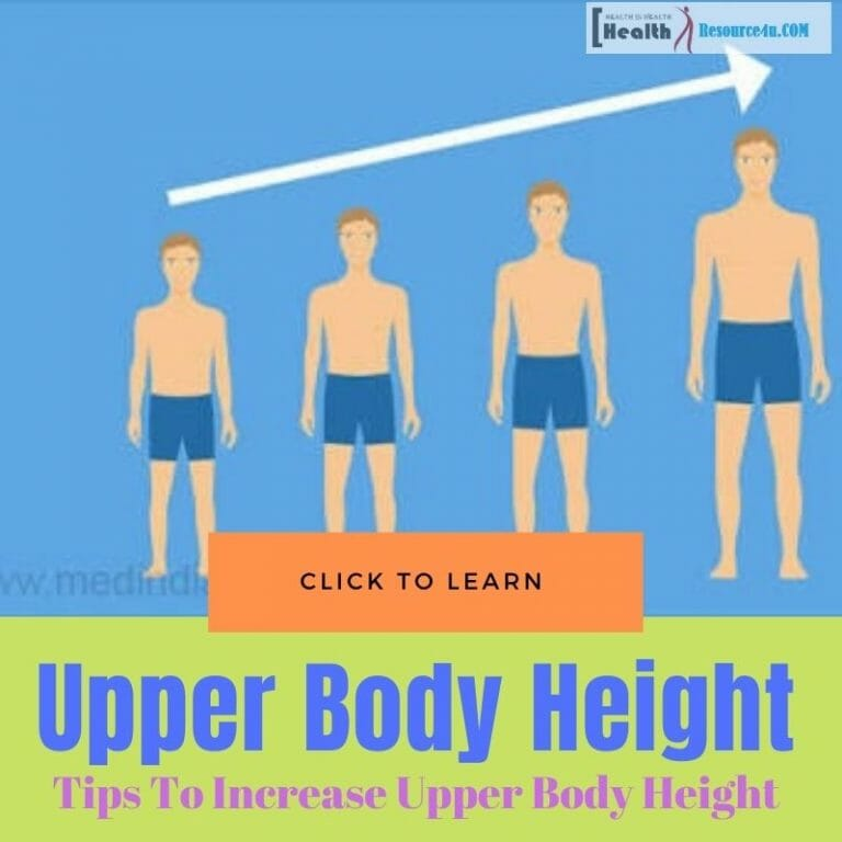 Increase Upper Body Height