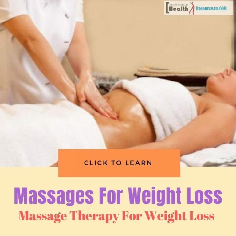Massage Therapy For Weight Loss