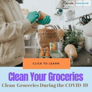 Clean Your Groceries During the COVID-19