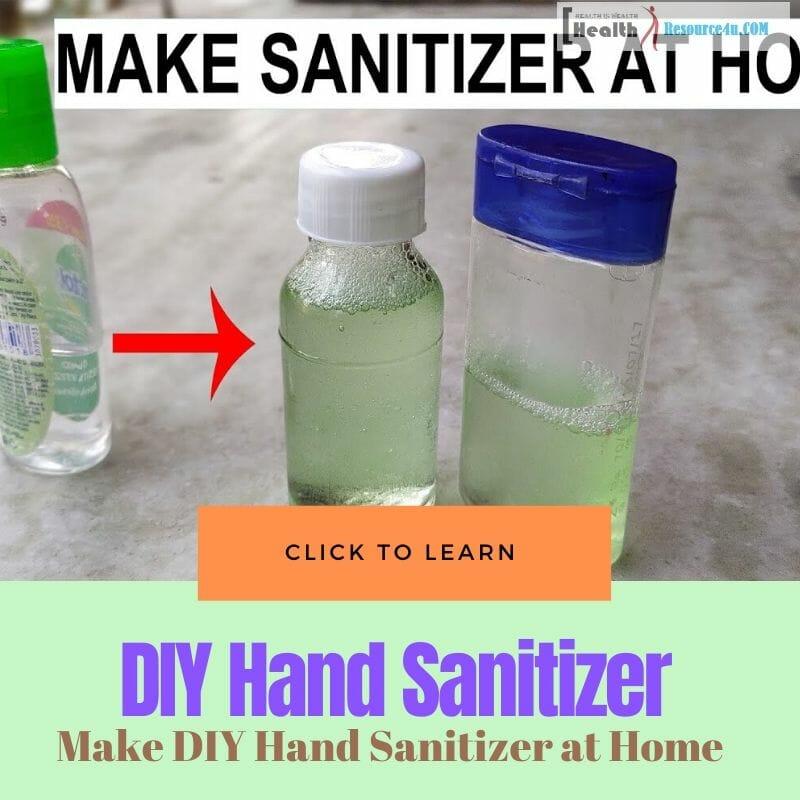DIY Hand Sanitizer at Home