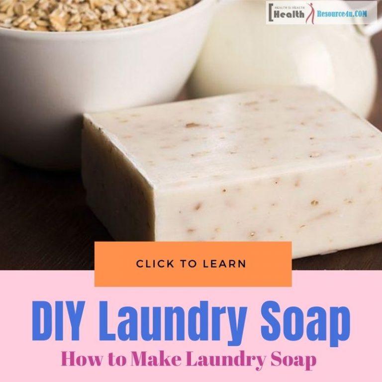 DIY Make Laundry Soap