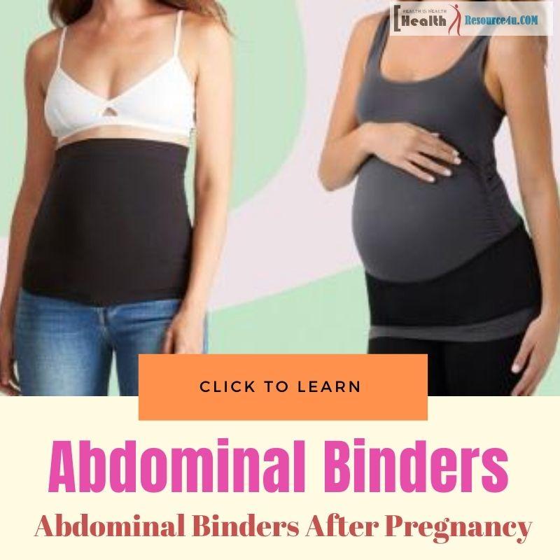 abdominal binders after pregnancy