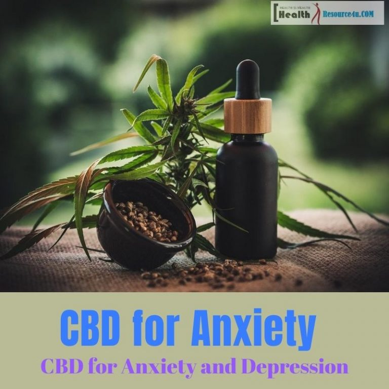 CBD for Anxiety and Depression