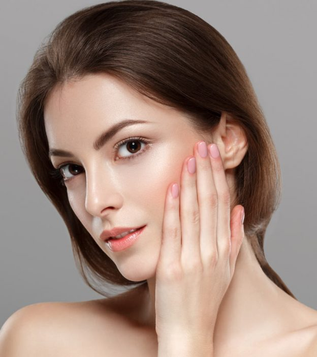 get silky glowing skin naturally