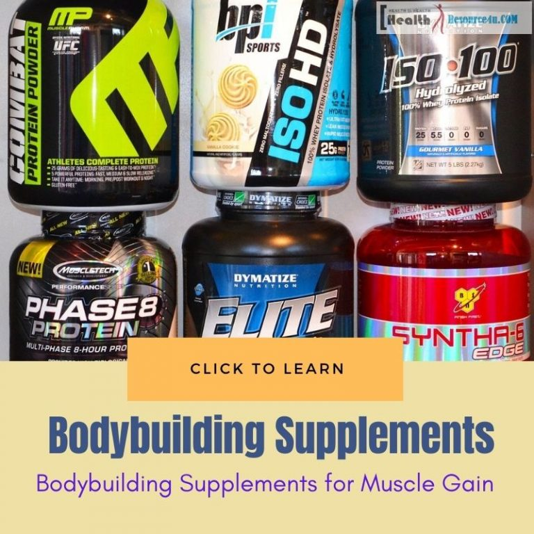 bodybuilding supplements for muscle gain