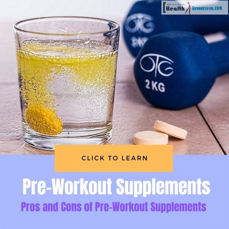Pros and Cons of Pre-Workout Supplements